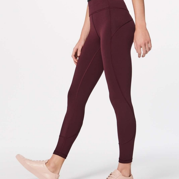 Lululemon in movement tight 7/8 size 8